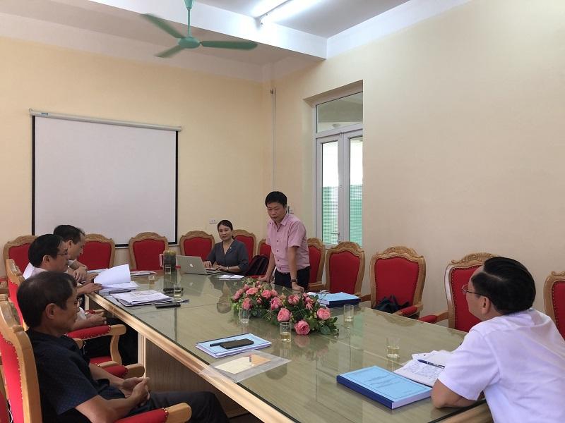 """Thẩm định xét duyệt đề tài: """"Thiết lập bản đồ lan truyền ô nhiễm không khí đối với hoạt động giao thông, sản xuất công nghiệp tại tỉnh Vĩnh Phúc"""""""