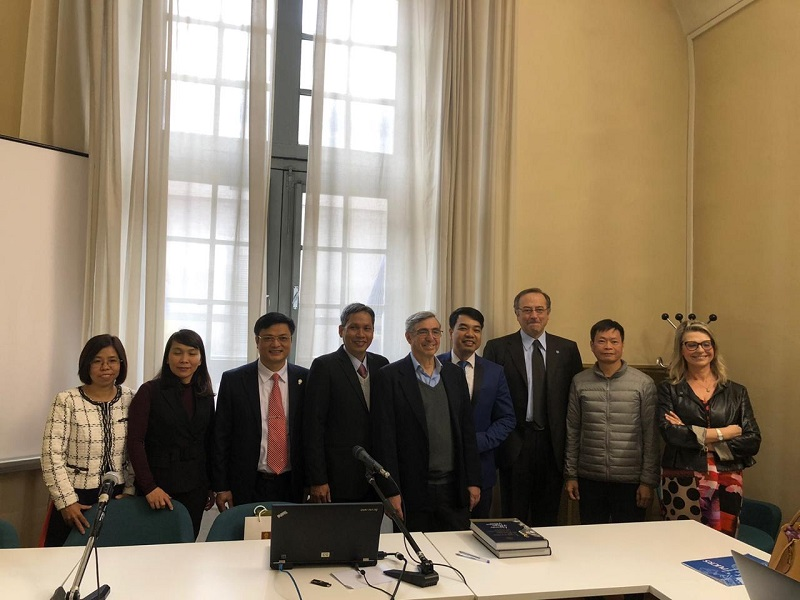 Trường Đại học Công nghiệp Hà Nội tham dự chuỗi sự kiện trong chương trình khởi động dự án LAB – MOVIE tại Italia do ủy ban Châu Âu tài trợ