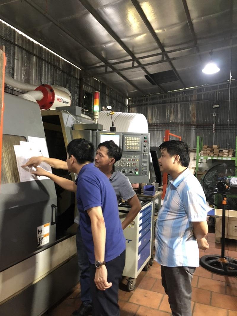 Khảo sát một số doanh nghiệp phía Nam trong khuôn khổ triển khai đề án Thuộc chương trình phát triển Công nghiệp Hỗ trợ năm 2020