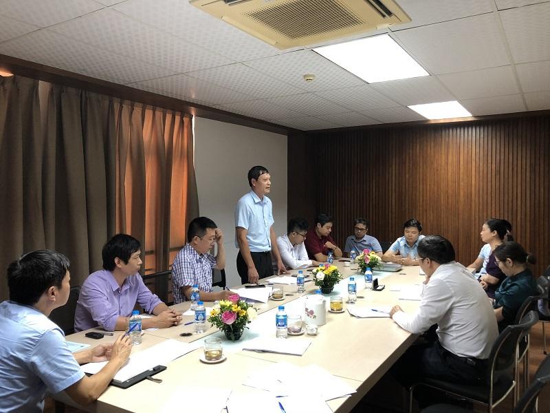 Viện Công nghệ HaUI tổ chức hội nghị viên chức, người lao động năm 2019 - 2020 và triển khai nhiệm vụ năm học 2020 -2021