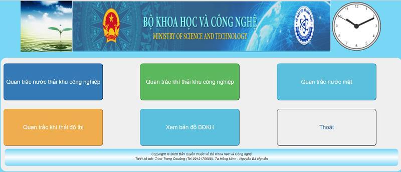 Xây dựng hệ thống giám sát trực tuyến thông số môi trường nước thải, khí thải